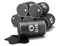 Βαρέλια πετρελαίου απεικόνιση αποθεμάτων