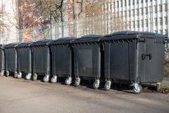 Βαρέλι αποβλήτων Στοκ Εικόνα