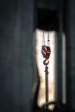 Βαρέων καθηκόντων λεπτομέρεια γερανών Στοκ Φωτογραφία