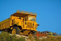 Βαρέων καθηκόντων φορτηγά απορρίψεων Στοκ εικόνα με δικαίωμα ελεύθερης χρήσης