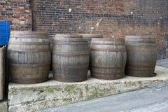 Βαρέλια μπύρας Στοκ φωτογραφίες με δικαίωμα ελεύθερης χρήσης