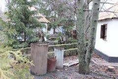 Βαρέλια που χαράζονται από έναν κορμό δέντρων Στοκ φωτογραφίες με δικαίωμα ελεύθερης χρήσης