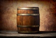Βαρέλι για τα ποτά Στοκ Φωτογραφίες
