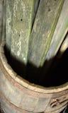 Βαρέλι και ξύλο Στοκ Φωτογραφίες