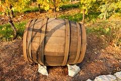 Βαρέλι κρασιού Στοκ εικόνα με δικαίωμα ελεύθερης χρήσης