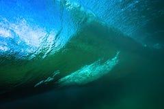 Βαρέλι κυμάτων υποβρύχιο Στοκ Εικόνα