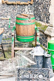 βαρέλι ξύλινο Στοκ Φωτογραφίες