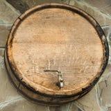βαρέλι ξύλινο Στοκ εικόνα με δικαίωμα ελεύθερης χρήσης
