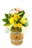Βαρέλι 10 λουλουδιών Στοκ φωτογραφίες με δικαίωμα ελεύθερης χρήσης