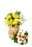 Βαρέλι 11 λουλουδιών Στοκ φωτογραφία με δικαίωμα ελεύθερης χρήσης