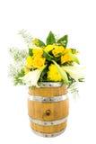 Βαρέλι 12 λουλουδιών Στοκ εικόνες με δικαίωμα ελεύθερης χρήσης