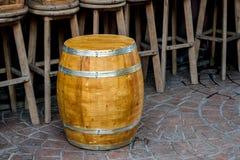 Βαρέλι δρύινου ξύλου Στοκ Εικόνες