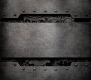 Βαραίνω και εργαλείων ροδών τρισδιάστατη απεικόνιση υποβάθρου τεχνολογίας ατμού πανκ Στοκ Φωτογραφία