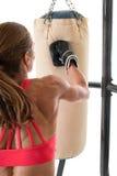 Βαριά άσκηση τσαντών Στοκ εικόνες με δικαίωμα ελεύθερης χρήσης