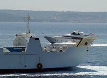 βαριά θαλάσσια κίνηση Στοκ Φωτογραφία