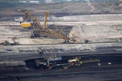 Βαριά μηχανήματα στο ορυχείο Στοκ εικόνα με δικαίωμα ελεύθερης χρήσης