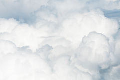 Βαριά σύννεφα από ανωτέρω Στοκ φωτογραφία με δικαίωμα ελεύθερης χρήσης
