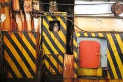Βαριά σύσταση υποβάθρου τοίχων μηχανημάτων βιομηχανική Στοκ Εικόνες