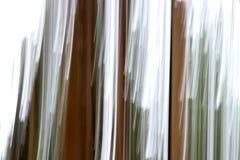 Βαριές κάθετες γραμμές καφετιού, πράσινος, και λευκού που γίνεται με την τεχνική γνωστή ως βράση στοκ εικόνες