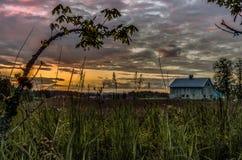 Βαριοί ουρανοί του Pacific Northwest Στοκ φωτογραφίες με δικαίωμα ελεύθερης χρήσης