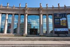 ΒΑΡΚΕΛΩΝΗ, ΙΣΠΑΝΙΑ - 17 Οκτωβρίου 2017 - Placa Espanya Βαρκελώνη, Bu Στοκ Εικόνες