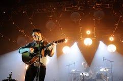 Marcus Mumford, frontman Mumford και των γιων Στοκ Εικόνα