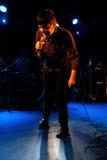 Eddie Argos, frontman της τέχνης Brut Στοκ εικόνες με δικαίωμα ελεύθερης χρήσης