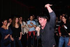 Eddie Argos, frontman της τέχνης Brut Στοκ Εικόνα