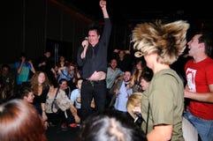 Eddie Argos, frontman της τέχνης Brut Στοκ Εικόνες