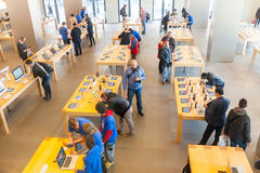 Κέντρο παρουσίασης της Apple Inc Στοκ εικόνες με δικαίωμα ελεύθερης χρήσης
