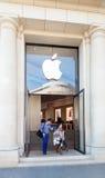 Κέντρο παρουσίασης της Apple Inc στη Βαρκελώνη, Ισπανία Στοκ Εικόνα