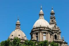 ΒΑΡΚΕΛΩΝΗ, SPAIN/EUROPE - 1 ΙΟΥΝΊΟΥ: Εθνικό παλάτι στη Βαρκελώνη στοκ φωτογραφίες με δικαίωμα ελεύθερης χρήσης