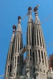 ΒΑΡΚΕΛΩΝΗ, SPAIN/EUROPE - 1 ΙΟΥΝΊΟΥ: Λα Sagrada Familia σε Barcel στοκ εικόνες