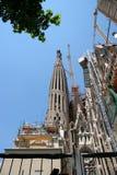 ΒΑΡΚΕΛΩΝΗ, SPAIN/EUROPE - 1 ΙΟΥΝΊΟΥ: Λεπτομέρεια της κατασκευής στοκ εικόνα