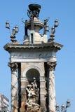 ΒΑΡΚΕΛΩΝΗ, SPAIN/EUROPE - 1 ΙΟΥΝΊΟΥ: Μνημείο d'Espanya Placa στο Μ στοκ εικόνες με δικαίωμα ελεύθερης χρήσης
