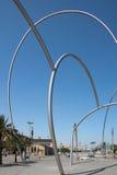 ΒΑΡΚΕΛΩΝΗ, SPAIN/EUROPE - 1 ΙΟΥΝΊΟΥ: Τέχνη οδών στη Βαρκελώνη σε Ju στοκ φωτογραφίες με δικαίωμα ελεύθερης χρήσης