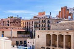 Βαρκελώνη, Ισπανία - 18 Απριλίου 2016: MACBA Museo de Arte Contemporaneo, κατώφλι Μουσείων Σύγχρονης Τέχνης Στοκ Φωτογραφία