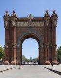 Βαρκελώνη - Arc de Triomf - Ισπανία Στοκ Εικόνες
