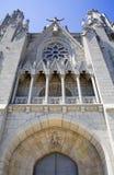 Βαρκελώνη church cor de Ιησούς sagrad Στοκ Εικόνες