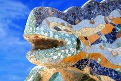 Βαρκελώνη guell parc Στοκ εικόνα με δικαίωμα ελεύθερης χρήσης
