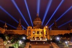Βαρκελώνη, Ισπανία - εθνικό Μουσείο Τέχνης Plaza de Espana Στοκ εικόνες με δικαίωμα ελεύθερης χρήσης
