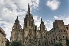 Βαρκελώνη Ισπανία: ο γοτθικός καθεδρικός ναός Στοκ Φωτογραφία