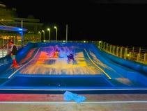 Βαρκελώνη, Ισπανία - 9 Σεπτεμβρίου 2015: Βασιλικός καραϊβικός διεθνής, γοητεία των θαλασσών Στοκ Φωτογραφίες