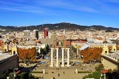Βαρκελώνη, Ισπανία Στοκ φωτογραφία με δικαίωμα ελεύθερης χρήσης