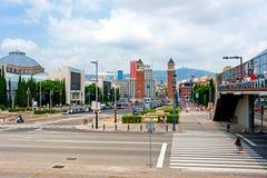 Βαρκελώνη, Ισπανία Στοκ εικόνες με δικαίωμα ελεύθερης χρήσης