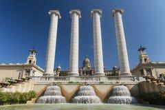 Βαρκελώνη (Ισπανία): Montjuic Στοκ Εικόνες