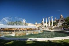 Βαρκελώνη (Ισπανία): Montjuic Στοκ φωτογραφίες με δικαίωμα ελεύθερης χρήσης