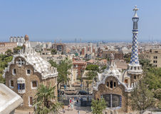 Βαρκελώνη Καταλωνία Ιησούς Josep pilat Ισπανία Parc Guel Στοκ φωτογραφίες με δικαίωμα ελεύθερης χρήσης