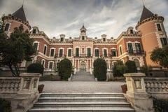 Βαρκελώνη, παλάτι, Παλάου Heures Στοκ φωτογραφία με δικαίωμα ελεύθερης χρήσης