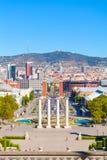 Βαρκελώνη, τετραγωνική της Ισπανίας, Plaza de Espana Στοκ εικόνες με δικαίωμα ελεύθερης χρήσης